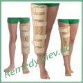 Бандаж на коленный сустав с ребрами жесткости (тутор)