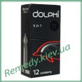 Презервативы Dolphi 3 в 1, 12 шт.