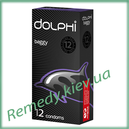 Презервативы Dolphi Багги, 12 шт.