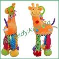 Жираф с грызунками игрушка детская