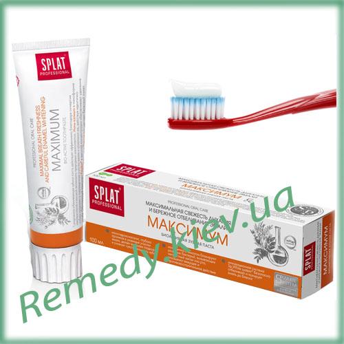 Зубная паста SPLAT Максимум, 100 мл, серия Professional