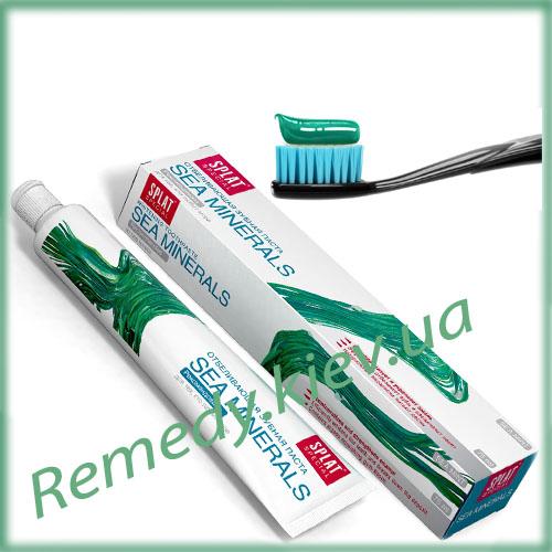 Зубная паста SPLAT Морские минералы 75 мл, серия Special