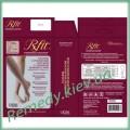 Гольфы мужские (модель 201) с сильной компрессией 25-35 мм. рт. ст. «Rxfit» с открытым носком