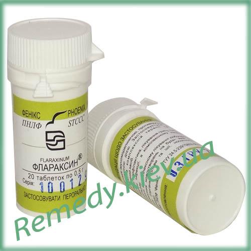 Флараксин таблетки