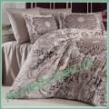 Комплект постельного белья Monte Carlo kahve Sat-110 SoundSleep Евро
